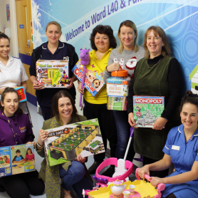Toy Donation to Leeds General Infirmary